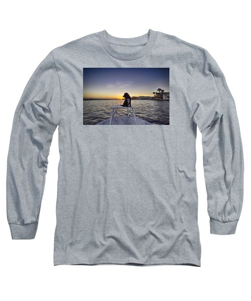 Spaniel At Sunset Long Sleeve T-Shirt