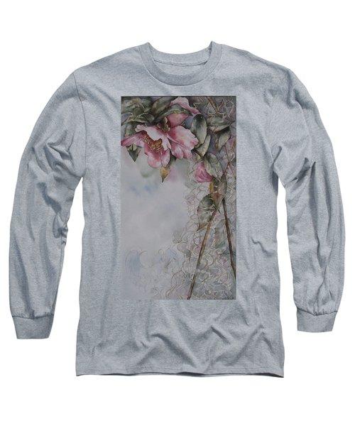 Spanish Camellias Long Sleeve T-Shirt