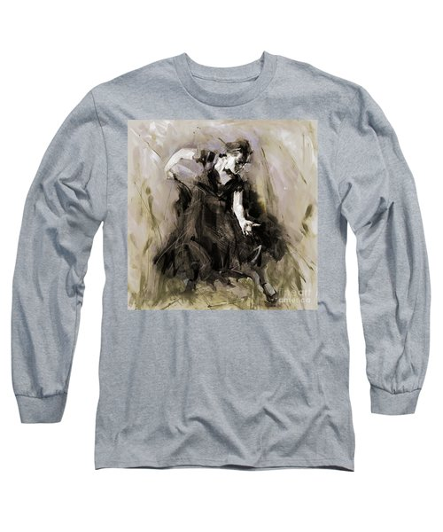 Long Sleeve T-Shirt featuring the painting Spanish Dancer 3400i by Gull G