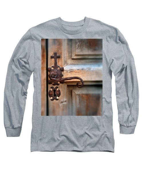 Spanish Mission Door Handle Long Sleeve T-Shirt