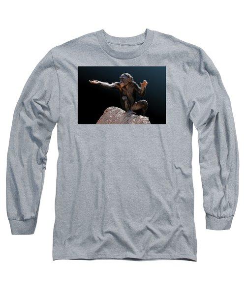 Spare Change? - Bonobo Long Sleeve T-Shirt