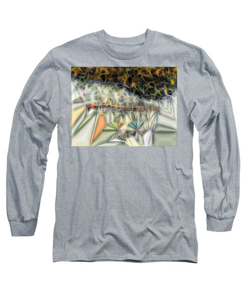 Long Sleeve T-Shirt featuring the digital art Sparks by Ron Bissett