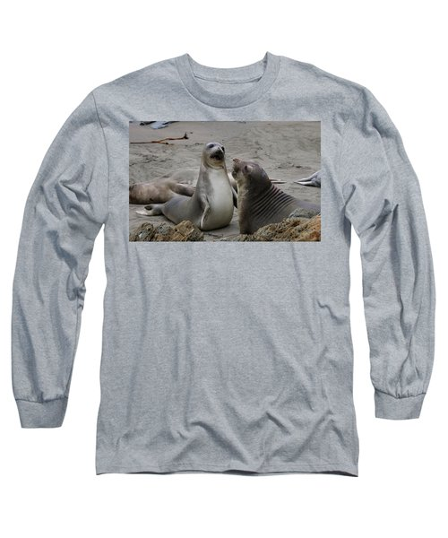 Sparring Seals  Long Sleeve T-Shirt