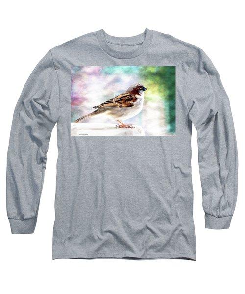 Sparrow Beauty 0004. Long Sleeve T-Shirt