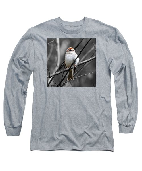 Sparrow Long Sleeve T-Shirt by Paul Wilford