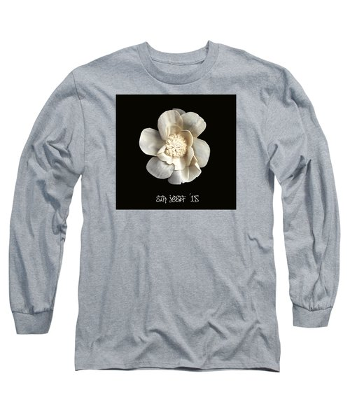 Special Magic Flower - For A Special Lady Long Sleeve T-Shirt by Sir Josef - Social Critic -  Maha Art