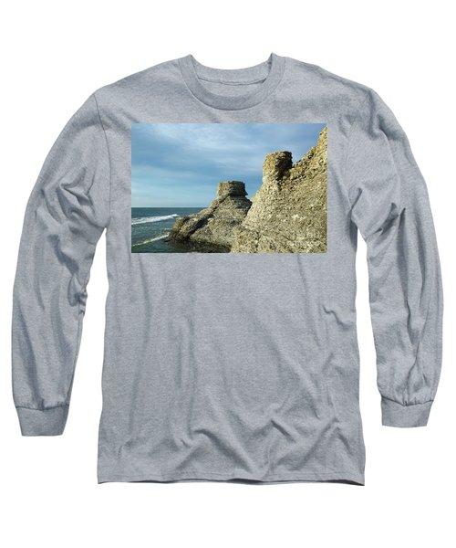 Spectacular Eroded Cliffs  Long Sleeve T-Shirt by Kennerth and Birgitta Kullman