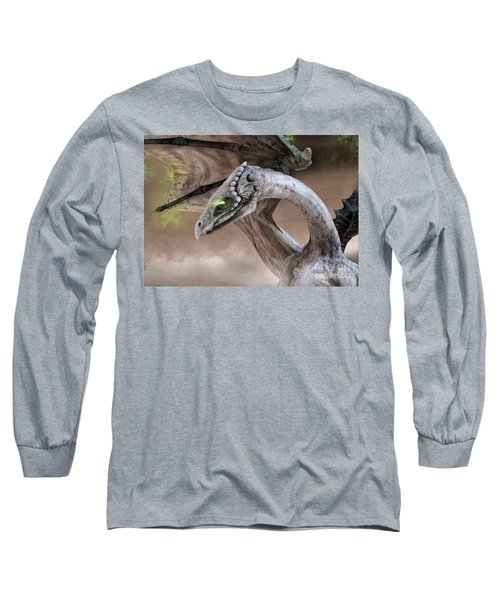 Spectral Dragon Long Sleeve T-Shirt