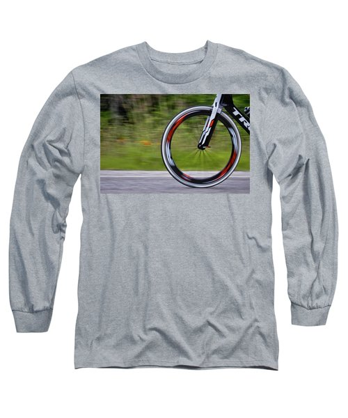 Long Sleeve T-Shirt featuring the photograph Speed Of Life by Linda Unger