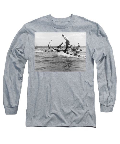 Speedboat Polo Enthusiasts Long Sleeve T-Shirt