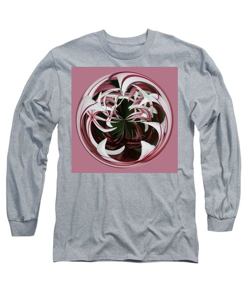 Spider Lily Orb Long Sleeve T-Shirt by Bill Barber