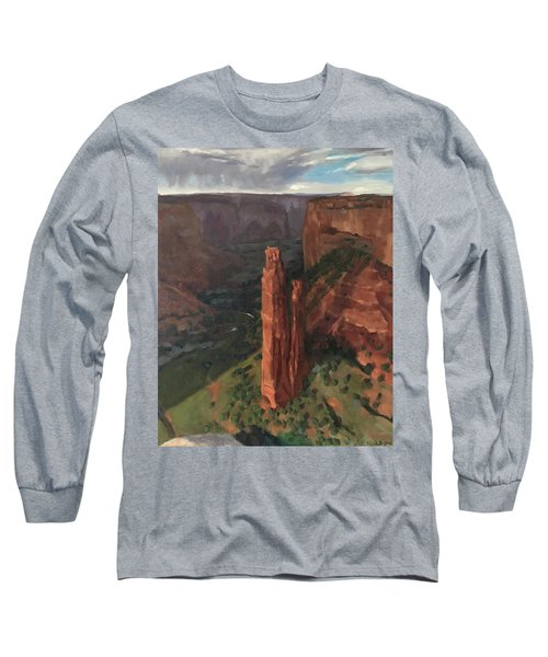 Spider Rock, Canyon De Chelly Long Sleeve T-Shirt