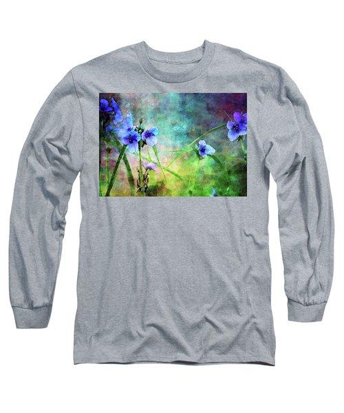 Spiderwort Dance 0115 Idp_2 Long Sleeve T-Shirt