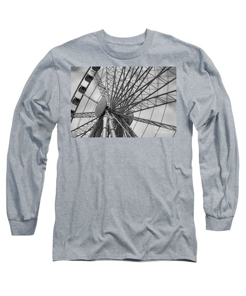 Spining Wheel  Long Sleeve T-Shirt