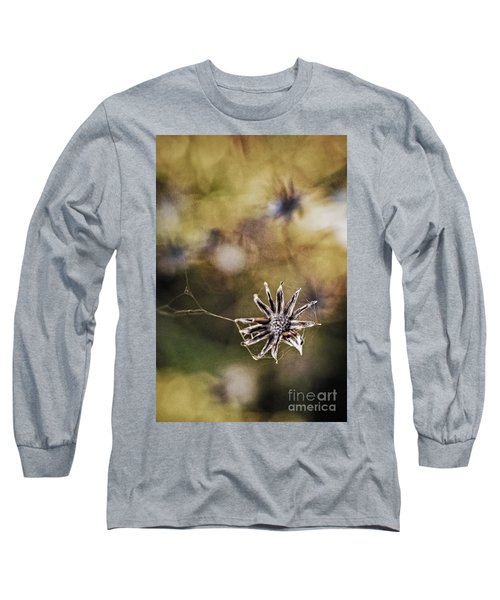 Spinnumwobner Bluetenstand Long Sleeve T-Shirt