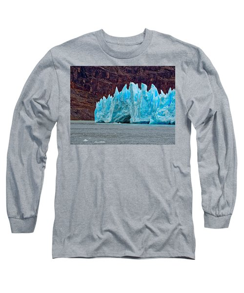 Spires Of Blue Long Sleeve T-Shirt