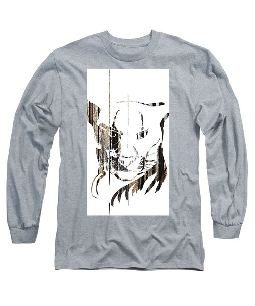 Spirit Animal . Cougar Long Sleeve T-Shirt