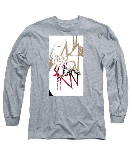Spirit Animal . Fox Long Sleeve T-Shirt