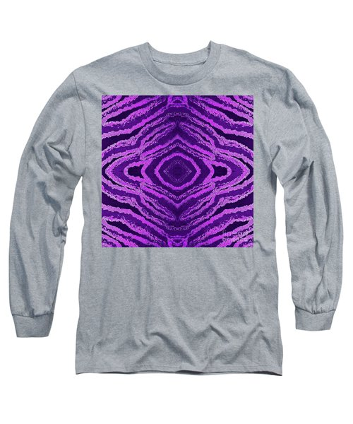 Spirit Journey Inward Long Sleeve T-Shirt by Rachel Hannah