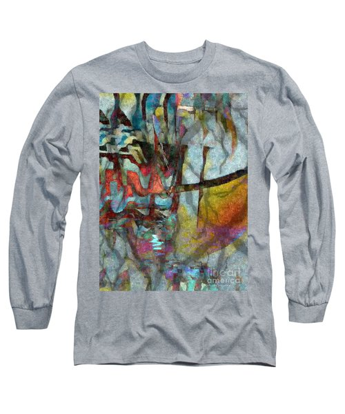 Spirit Quest Long Sleeve T-Shirt by Kathie Chicoine