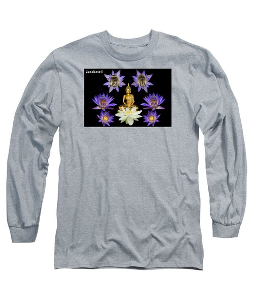 Spiritual Water Lilly Long Sleeve T-Shirt