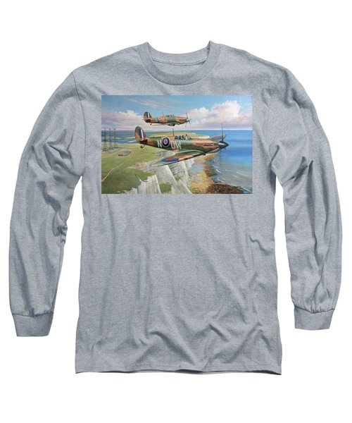 Spitfire And Hurricane 1940 Long Sleeve T-Shirt