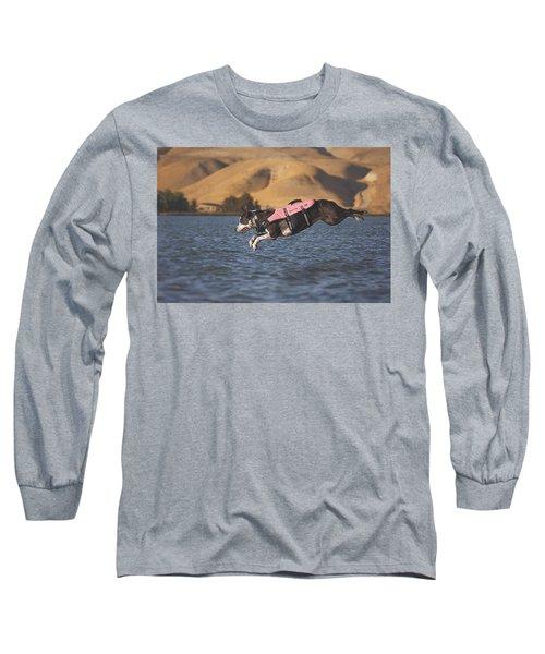 Splash In 3...2...1.... Long Sleeve T-Shirt
