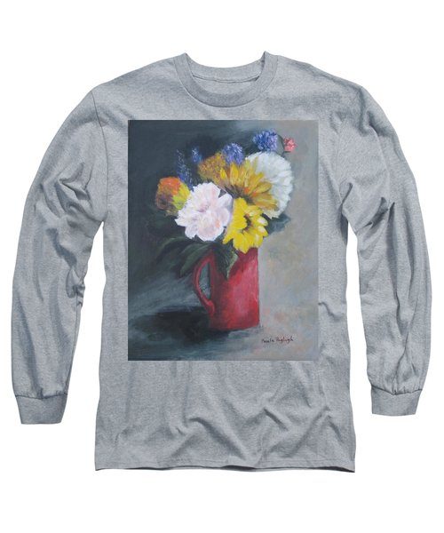 Splash Of Color Long Sleeve T-Shirt