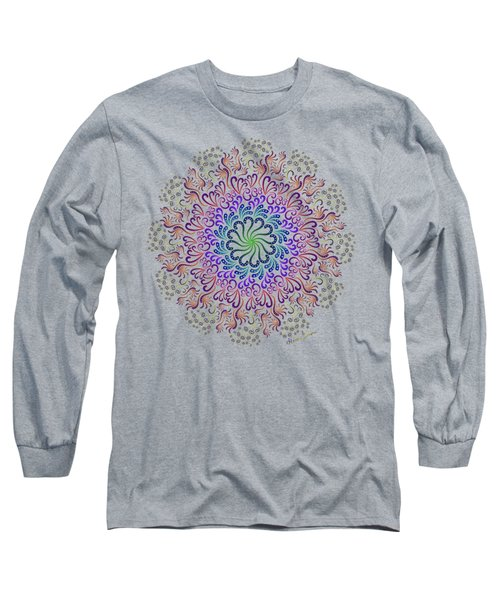 Splendid Spotted Swirls Long Sleeve T-Shirt