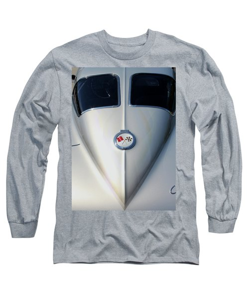 Split Window Long Sleeve T-Shirt