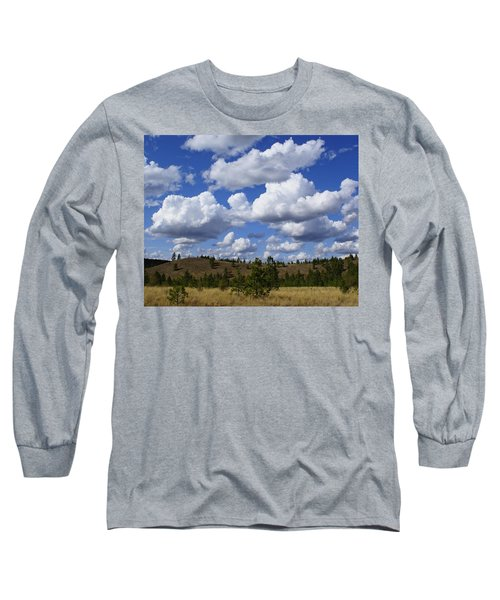 Spokane Cloudscape Long Sleeve T-Shirt