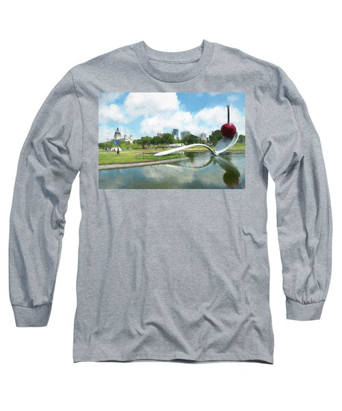 Spoon And Cherry Long Sleeve T-Shirt
