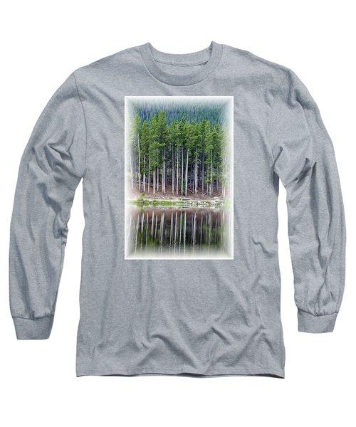 Sprague Lake 03 Long Sleeve T-Shirt by Pamela Critchlow