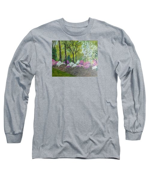 Spring Along Tega Cay Drive Long Sleeve T-Shirt