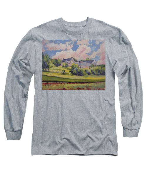 Spring At The Hoeve Zonneberg Maastricht Long Sleeve T-Shirt by Nop Briex