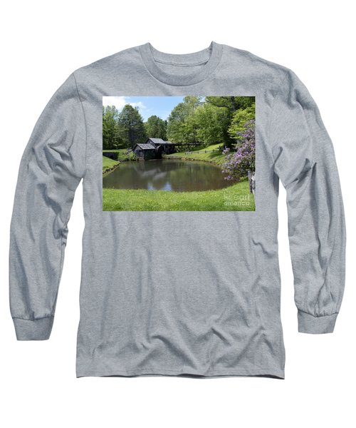 Spring Comes To Mabry Mill Long Sleeve T-Shirt