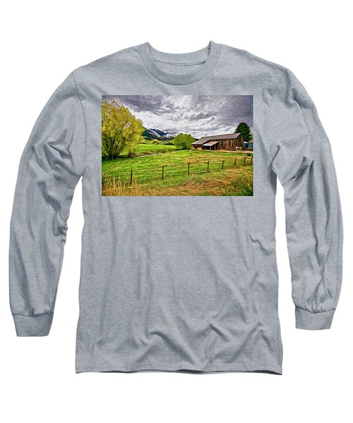 Spring Coming To Life Long Sleeve T-Shirt
