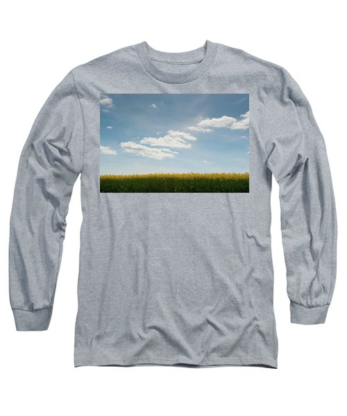 Spring Day Clouds Long Sleeve T-Shirt