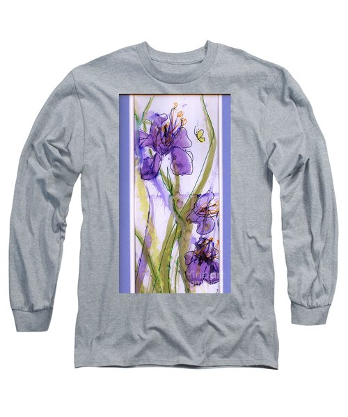 Long Sleeve T-Shirt featuring the painting Spring Fling by P J Lewis