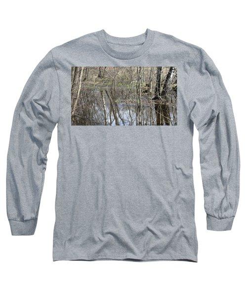 Spring Flood Long Sleeve T-Shirt by Anna Yurasovsky
