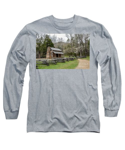 Spring For The Settlers Long Sleeve T-Shirt by Debbie Green