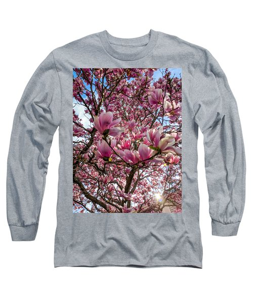 Spring Fractals Long Sleeve T-Shirt
