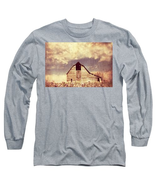 Spring In Kansas  Long Sleeve T-Shirt by Julie Hamilton