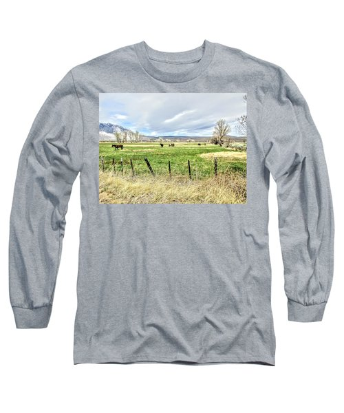 Spring In The Valley Long Sleeve T-Shirt