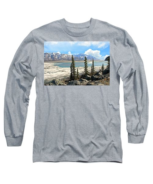 Spring In The Wrangell Mountains Long Sleeve T-Shirt