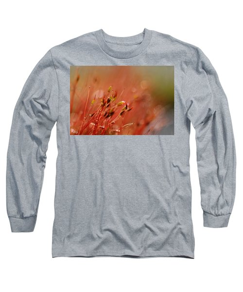 Long Sleeve T-Shirt featuring the photograph Spring Macro3 by Jeff Burgess