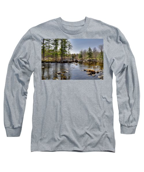 Long Sleeve T-Shirt featuring the photograph Spring Near Moose River Road by David Patterson