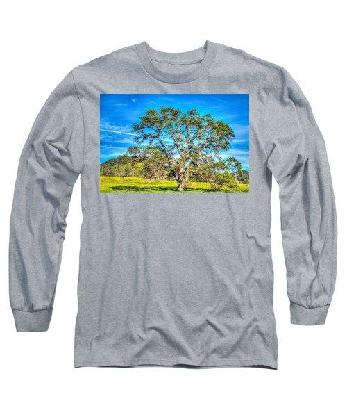 Spring Oak Moon Rise Long Sleeve T-Shirt