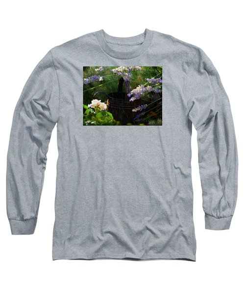 Spring Rain Long Sleeve T-Shirt by Marika Evanson