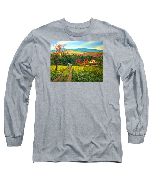 Spring Time In The Mountains Long Sleeve T-Shirt